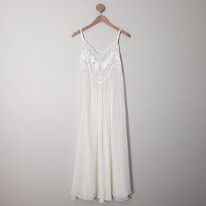 Victoria's Secret Satin Lace Long Slip Dress